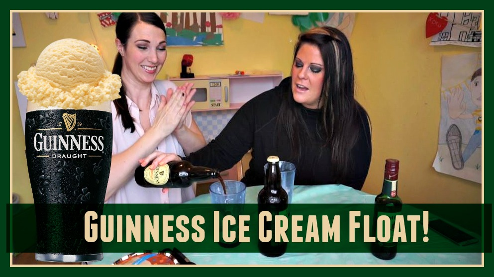 Guiness Ice Cream Float
