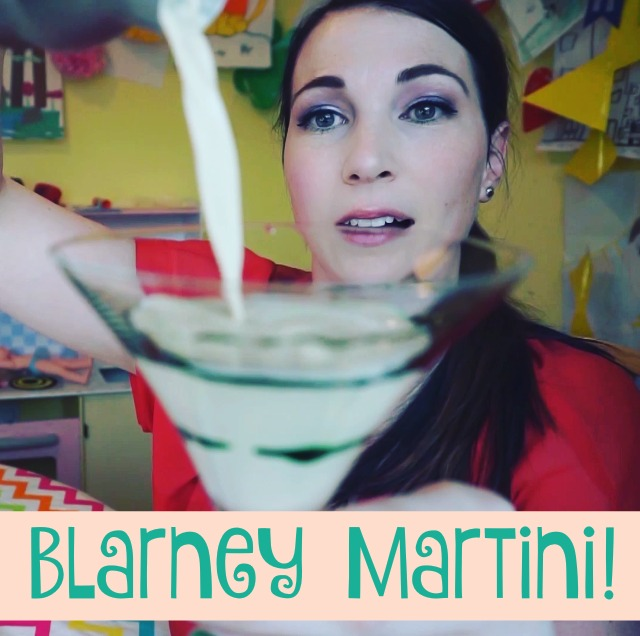 The Blarney Martini