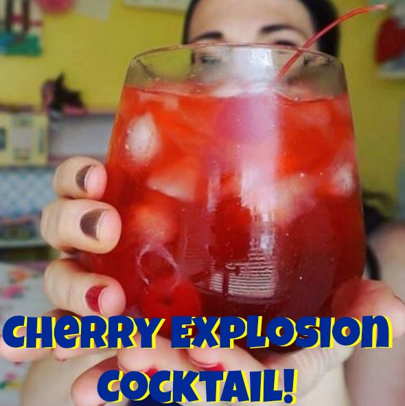 The Cherry Explosion Cocktail