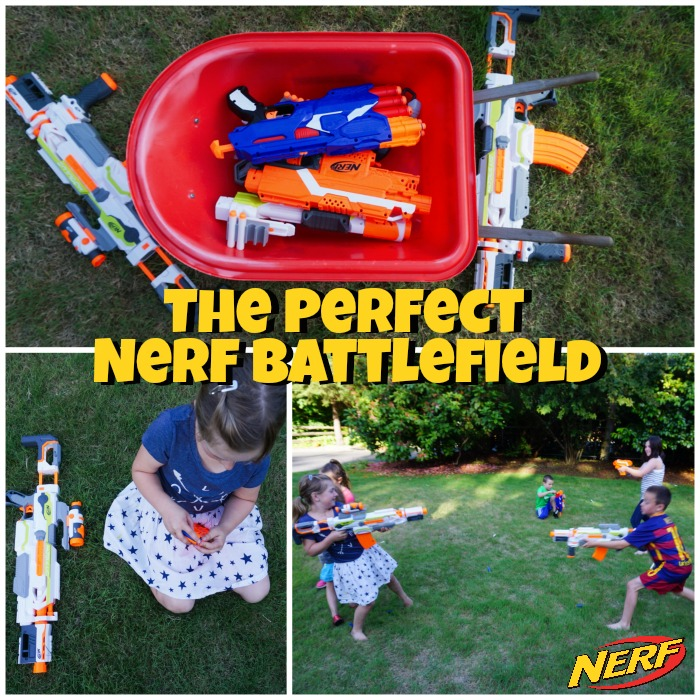 The Perfect Nerf Battlefield