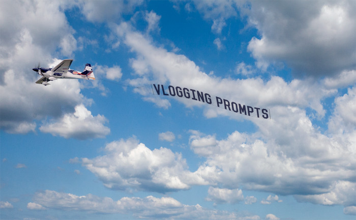 vlogging prompts