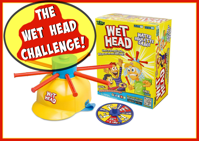 The Wet Head Challenge For YouTube