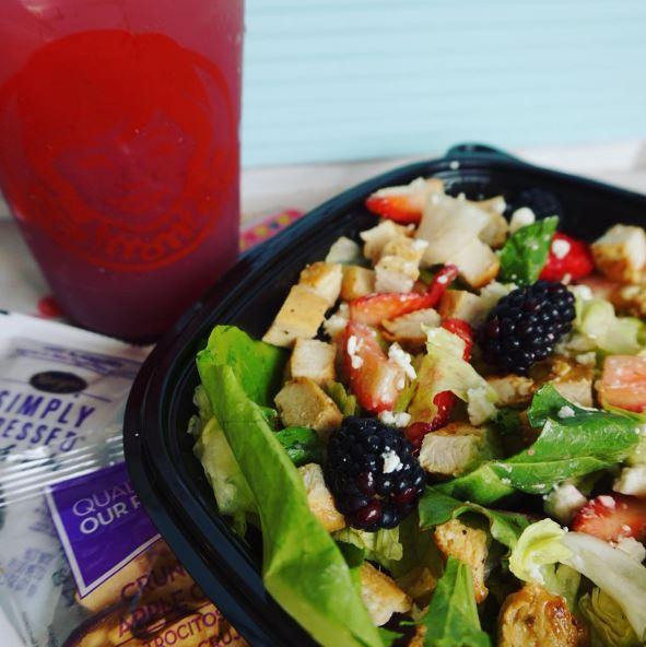 Wendys Summer Berry Chicken Salad