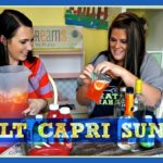 Adult Capri Suns!