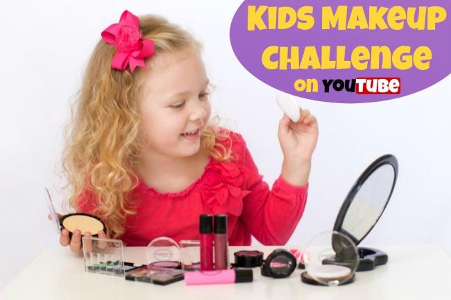 kids makeup challenge
