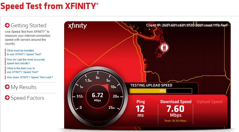 xfinity speed test2