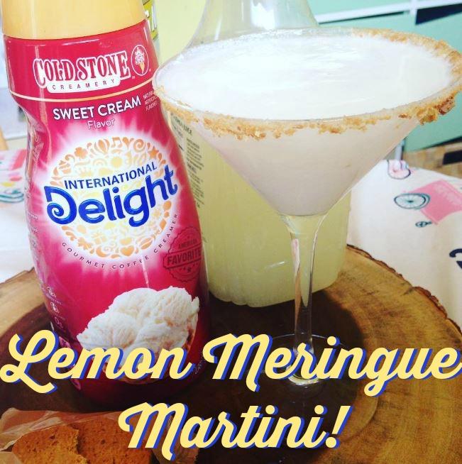 Lemon Meringue Pie Martini