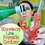 Strawberry Lime Spritzer!
