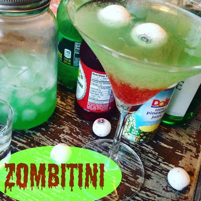 Zombitini Cocktail