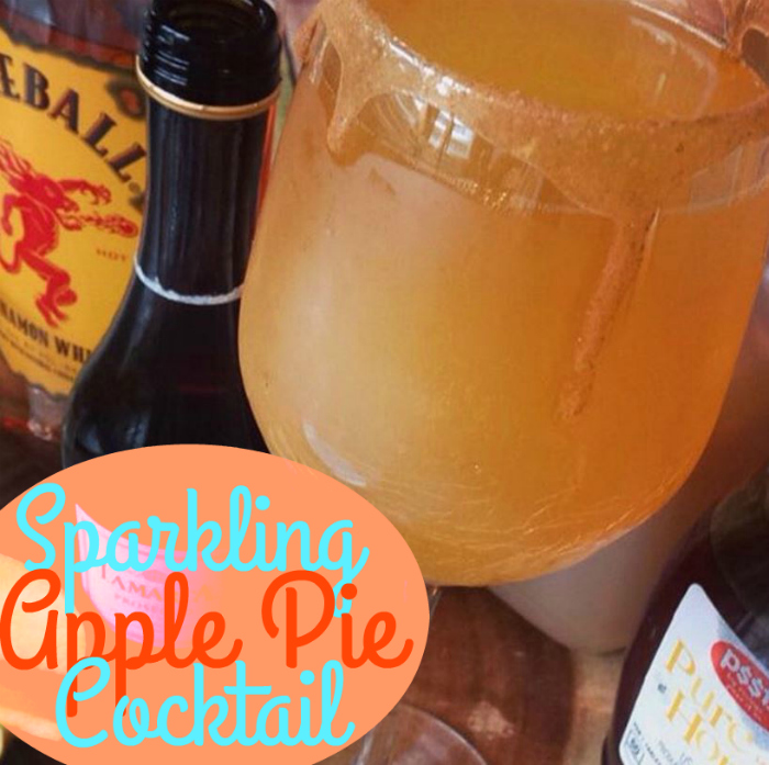 Sparkling Apple Pie Cocktail! « Family « Mama's Losin' It!