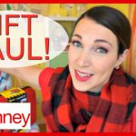 JCPenney Holiday Challenge and Gift Haul