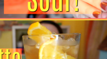 Easy Amaretto Sour!