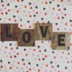 EASY Valentine Scrabble Coasters